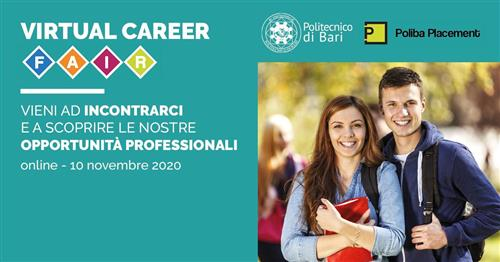Fincons Group partecipa al Virtual Career Fair Poliba