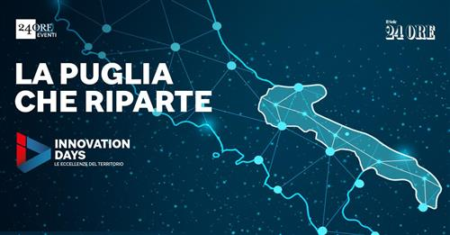 Il CEO Michele Moretti interviene agli Innovation Days Puglia del Sole 24 Ore. Guarda il video del suo intervento
