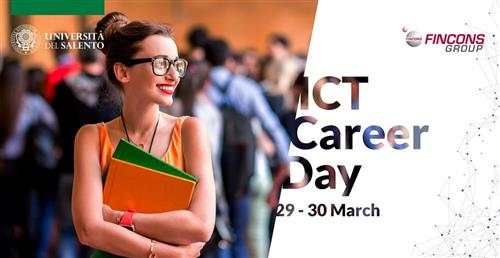 Fincons Group partecipa all'evento ICT Career Day 2021